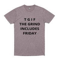 TGIF Tee - Mens Stone Wash Staple Tee Thumbnail
